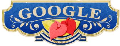 Google Logo: 2011 Uruguay Independence Day